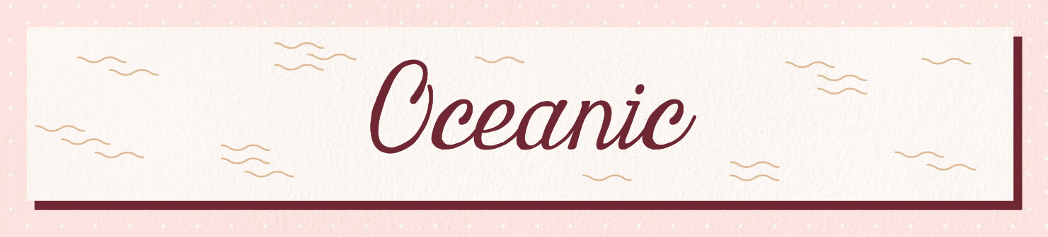 oceanic wedding scents header image