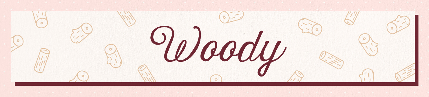 woody wedding scents header image