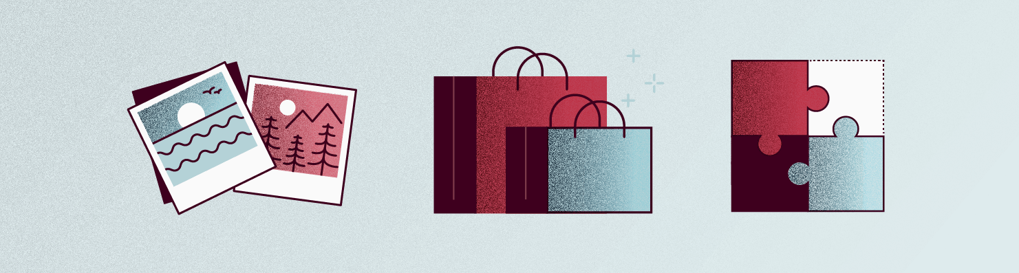 retail items illustration