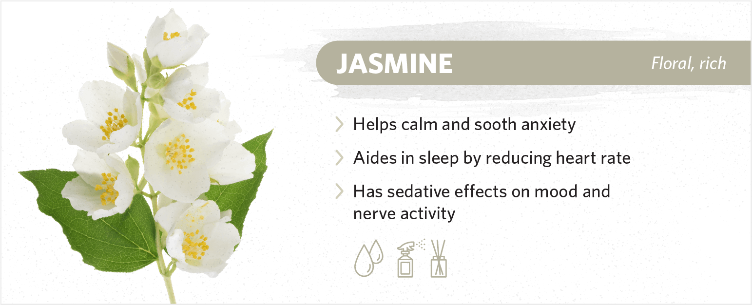 jasmine sleep benefits