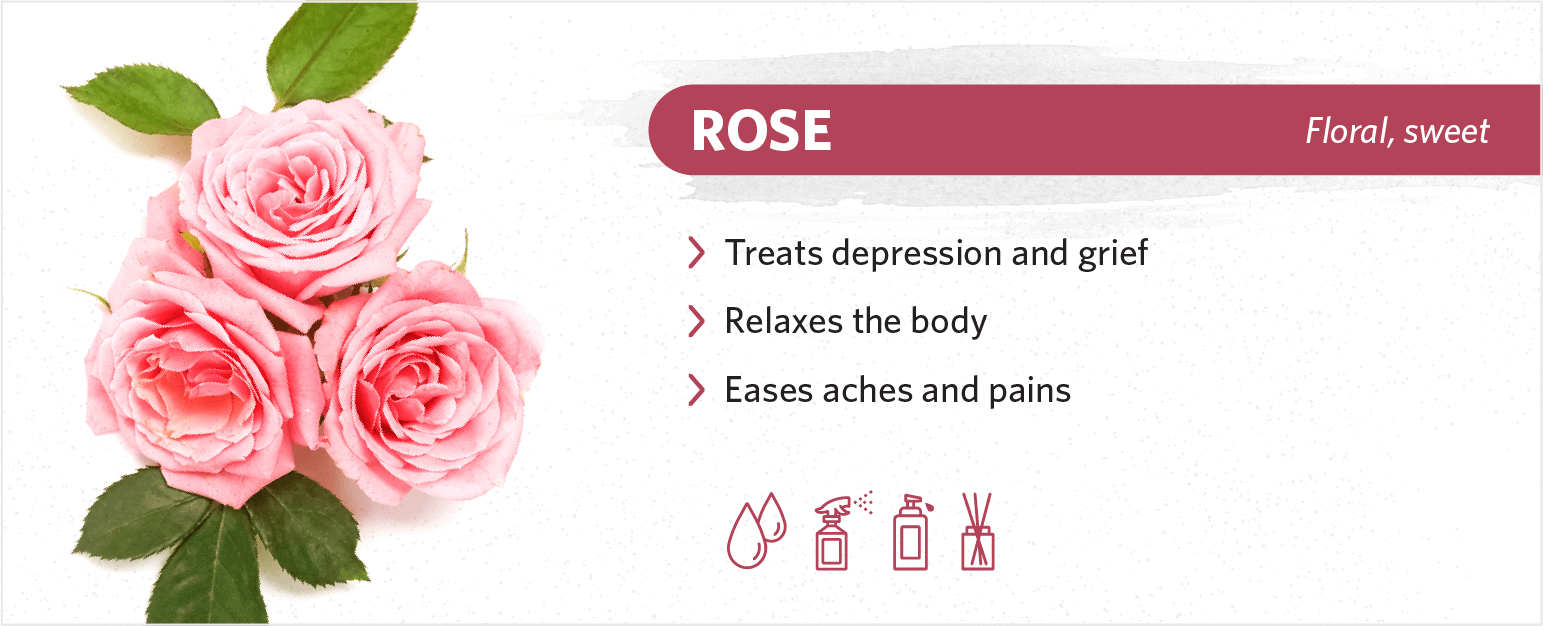 rose sleep benefits
