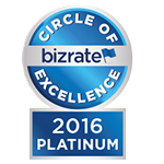 Bizrate 2016 Platinum Circle of Excellence