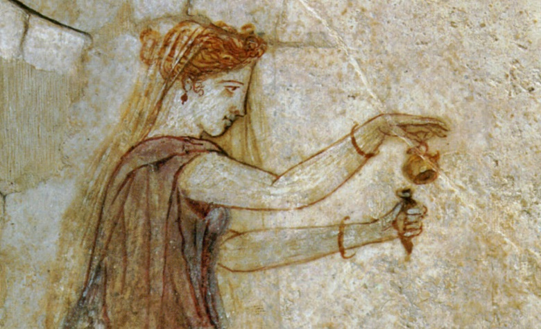 greeks and ancient perfume
