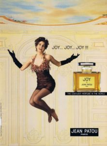 Joy Patou was worn by famous Old Hollywood stars