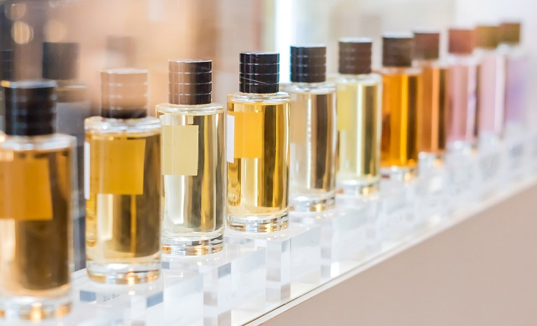 Photo of the Bottles used to make perfume