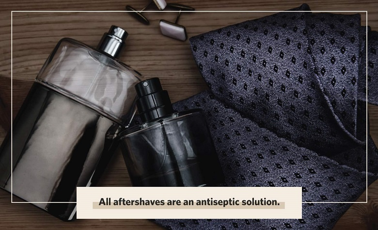 what is afteshave antiseptic