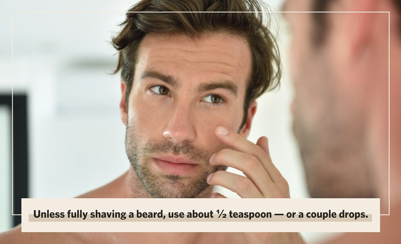 what is aftershave and how much do you need