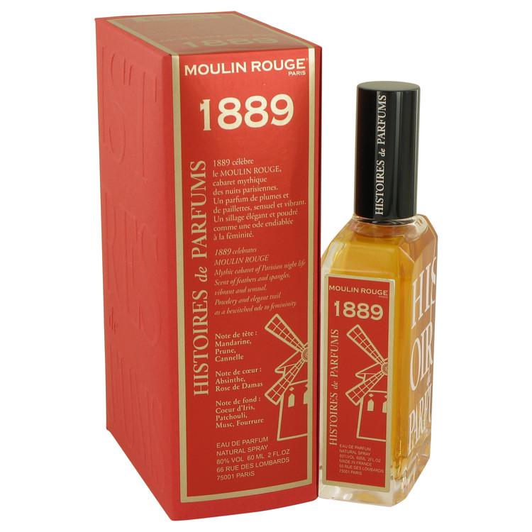 1889 Moulin Rouge by Histoires De Parfums for Women Eau De Parfum Spray 2 oz