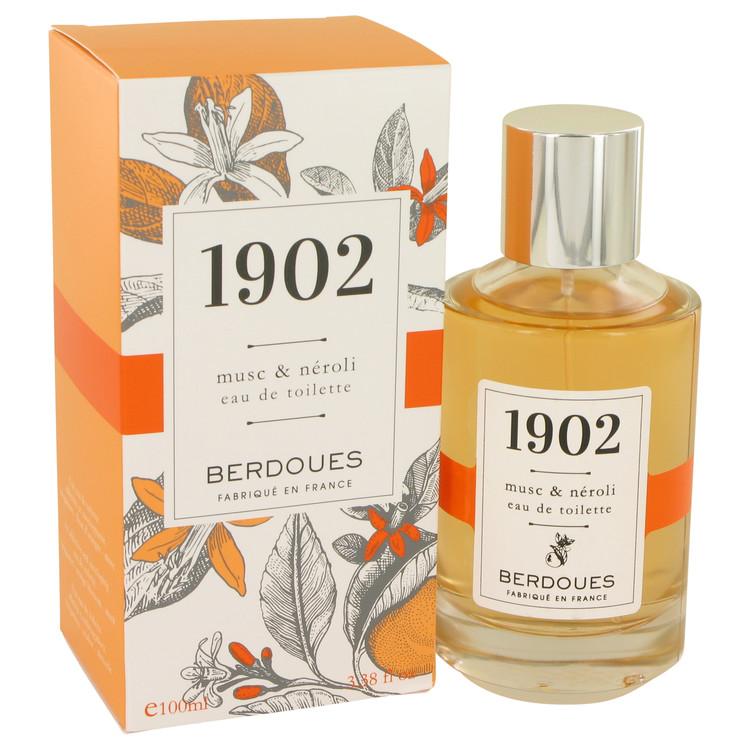 1902 Musc and Neroli Eau De Toilette Spray By Berdoues 100ml