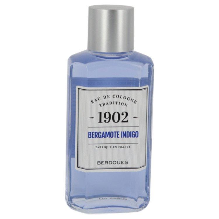 1902 Bergamote Indigo Eau De Cologne By Berdoues 245ml