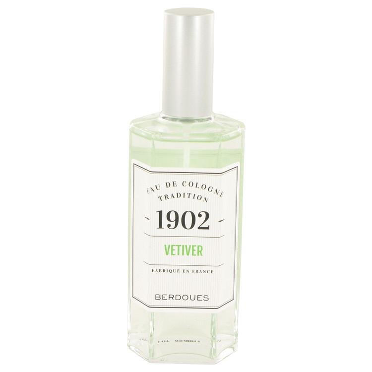 1902 Vetiver by Berdoues for Men Eau De Cologne Spray (Unisex) 4.2 oz