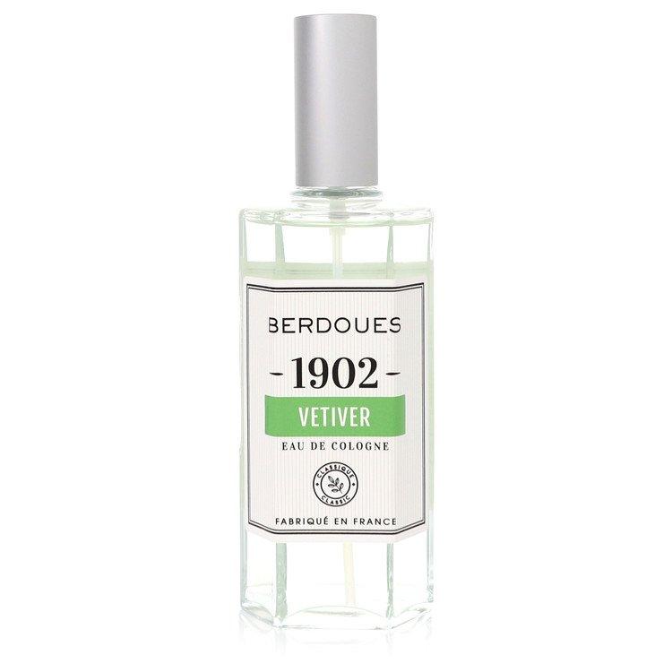 1902 Vetiver Eau De Cologne Spray (Unisex) By Berdoues 125ml
