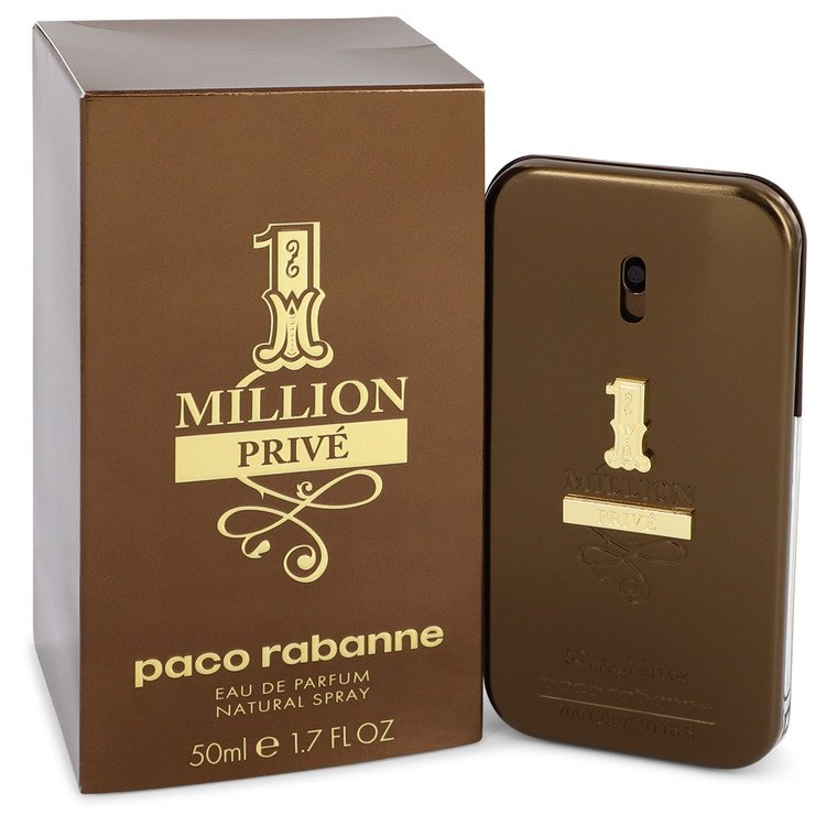 1 Million Prive Eau De Parfum Spray By Paco Rabanne 50ml