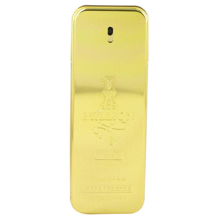 1 Million Absolutely Gold by Paco Rabanne for Men Pure Perfume Spray (Tester) 3.3 oz