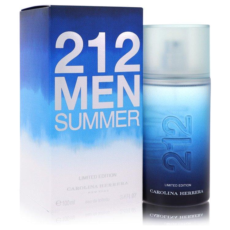 212 Summer Eau De Toilette Spray (Limited Edition) By Carolina Herrera 3.4oz