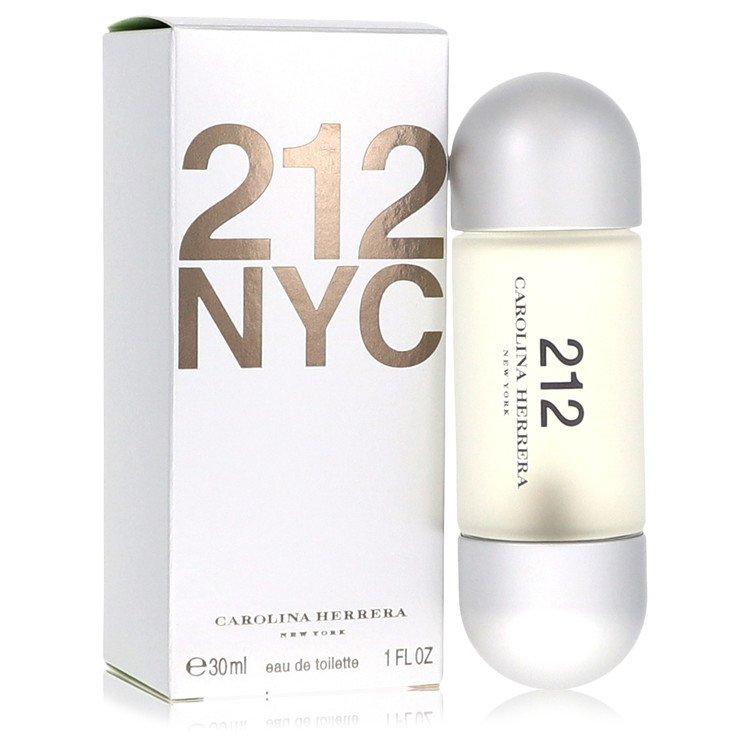 212 Eau De Toilette Spray (New Packaging) By Carolina Herrera 1.0oz