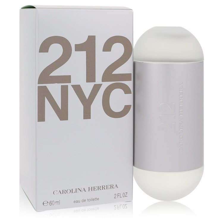 212 Eau De Toilette Spray (New Packaging) By Carolina Herrera 2.0oz