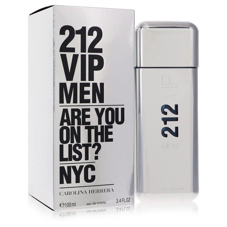 212 Vip Eau De Toilette Spray By Carolina Herrera 3.4oz
