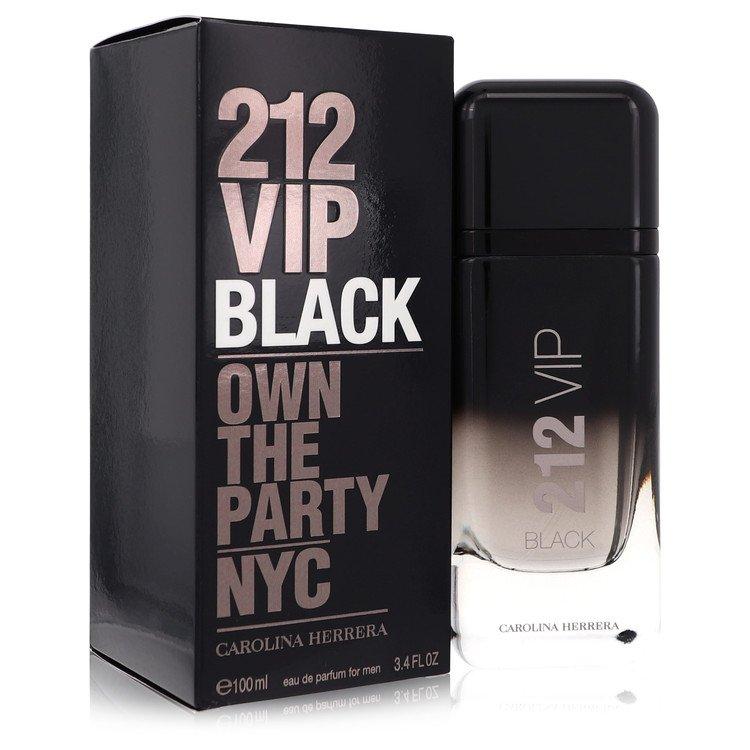 212 Vip Black Eau De Parfum Spray By Carolina Herrera 3.4oz