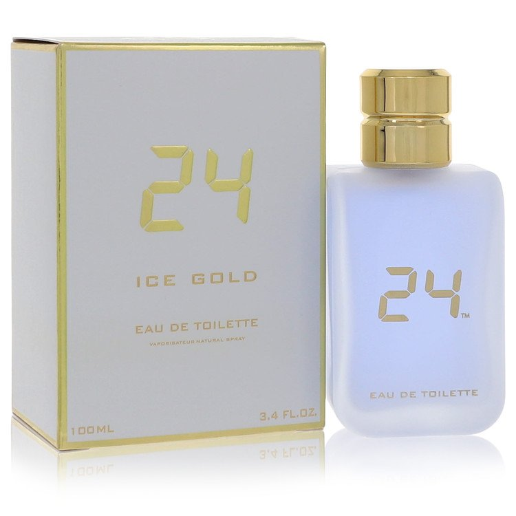 24 Ice Gold Eau De Toilette Spray By ScentStory 3.4oz