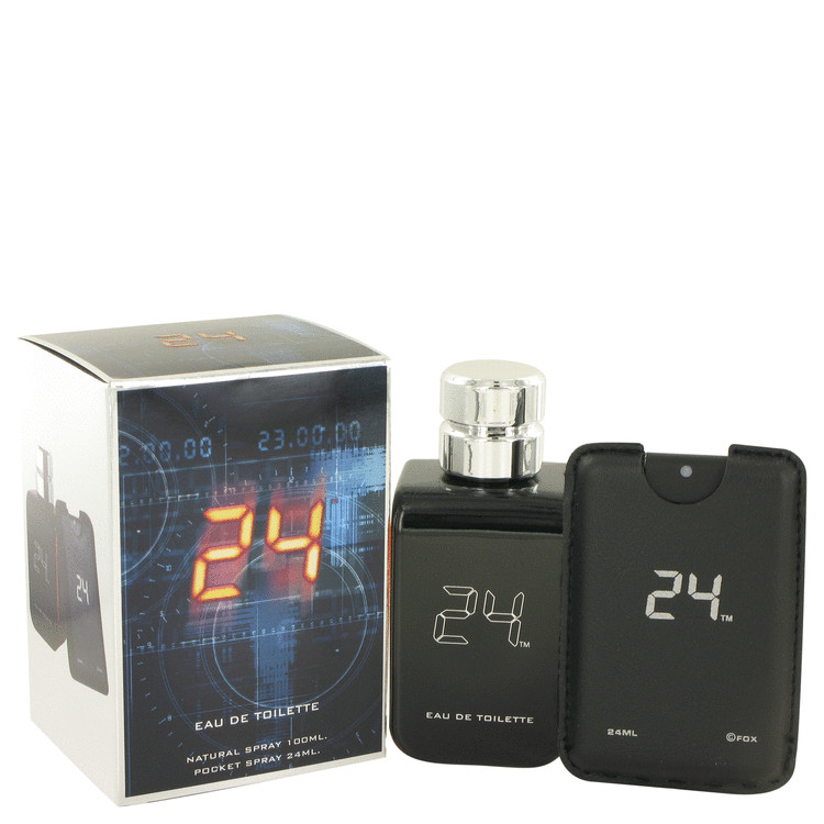 24 The Fragrance Eau De Toilette Spray + 0.8 oz Mini Pocket Spray By ScentStory
