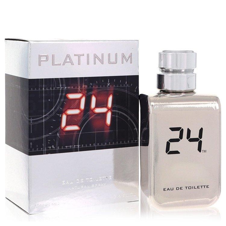 24 Platinum The Fragrance Eau De Toilette Spray By ScentStory 3.4oz