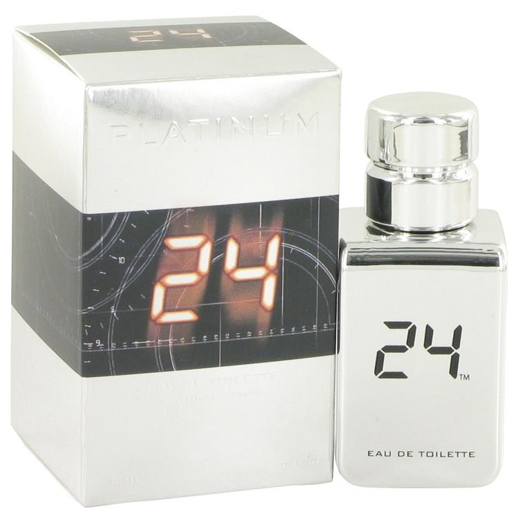 24 Platinum The Fragrance Eau De Toilette Spray By ScentStory 1.0oz