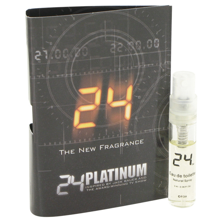 24 Platinum The Fragrance Vial (sample) By ScentStory 1ml