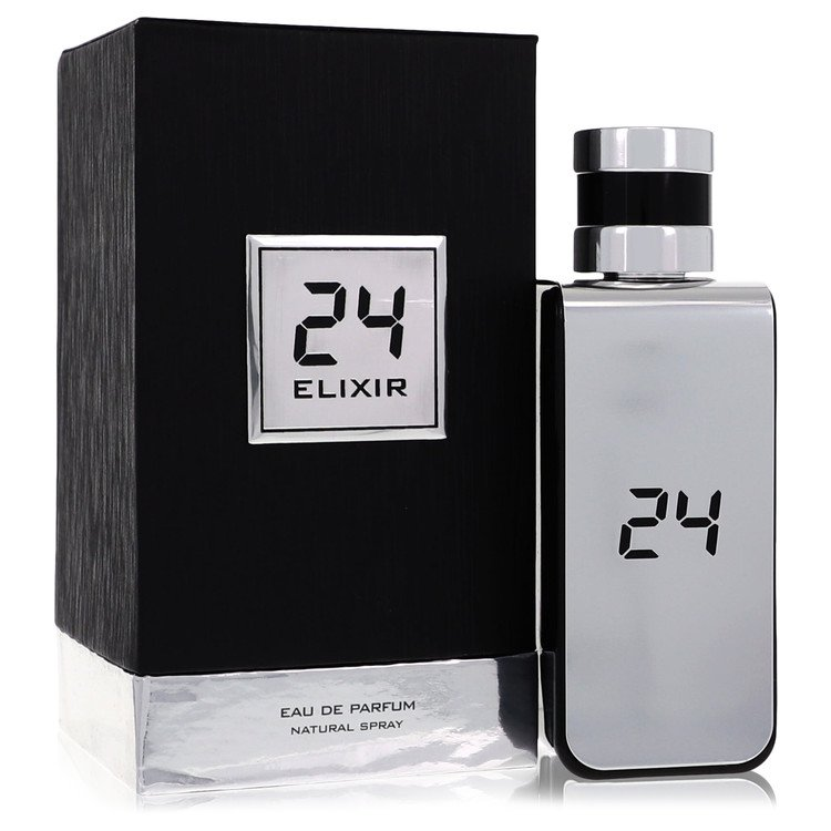 24 Platinum Elixir Eau De Parfum Spray By ScentStory 3.4oz