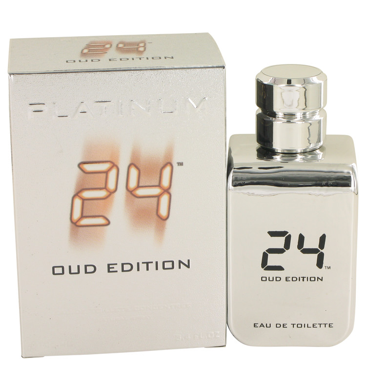 24 Platinum Oud Edition Eau De Toilette Concentree Spray (Unisex) By ScentStory 3.4oz
