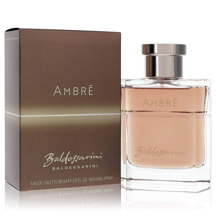 Baldessarini Ambre Eau De Toilette Spray By Hugo Boss 3.0oz