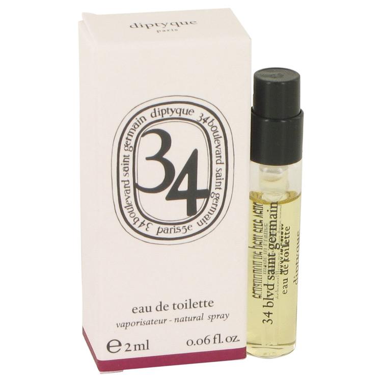 34 boulevard saint germain by Diptyque for Women Vial (sample) .06 oz