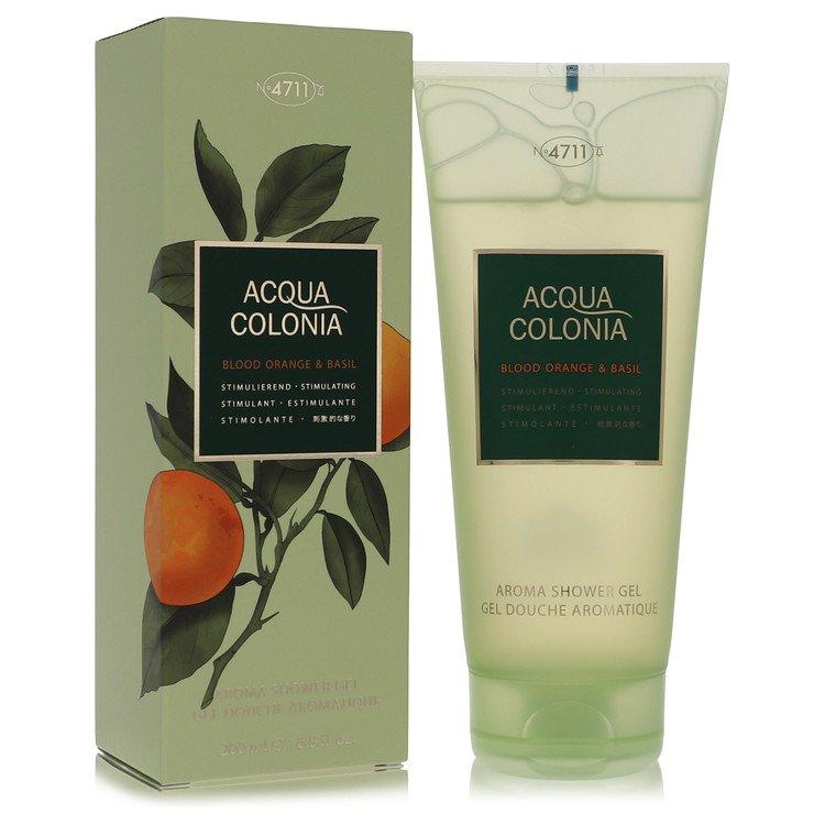4711 Acqua Colonia Blood Orange and Basil Shower Gel By Maurer and Wirtz 6.8oz