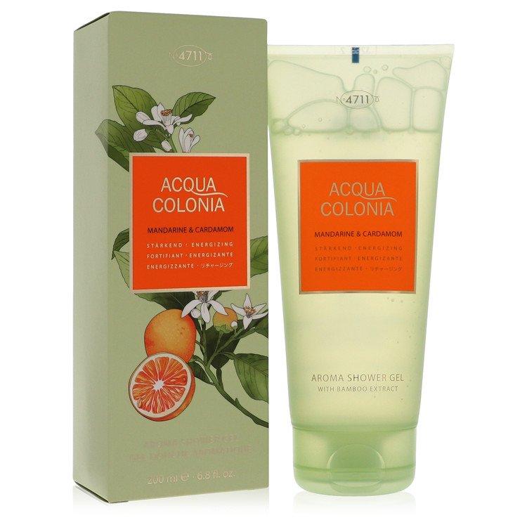 4711 Acqua Colonia Mandarine and Cardamom Shower gel By Maurer and Wirtz 6.8oz