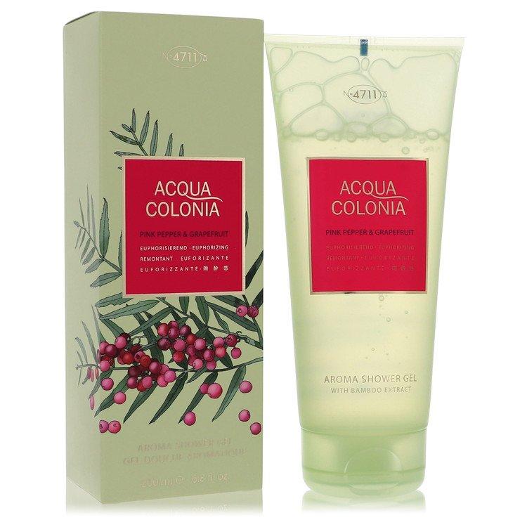 4711 Acqua Colonia Pink Pepper and Grapefruit Shower Gel By Maurer and Wirtz 6.8oz