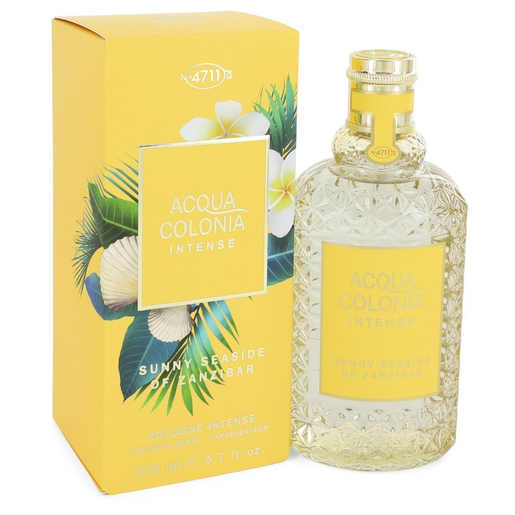 4711 Acqua Colonia Sunny Seaside Of Zanzibar Eau De Cologne Intense Spray (Unisex) By Maurer and Wir 5.7oz