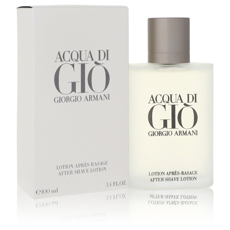 Acqua Di Gio After Shave Lotion By Giorgio Armani 3.4oz