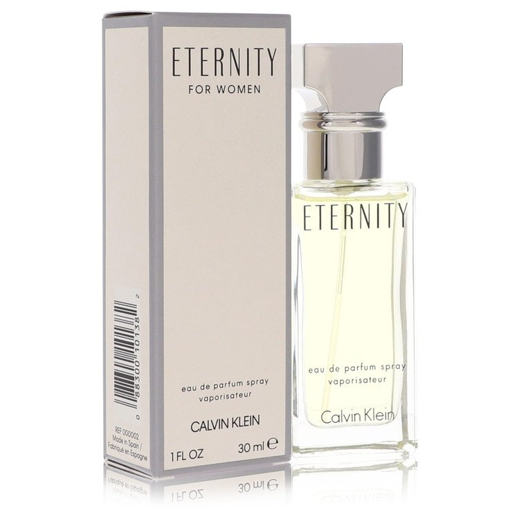 Eternity Eau De Parfum Spray By Calvin Klein 30ml