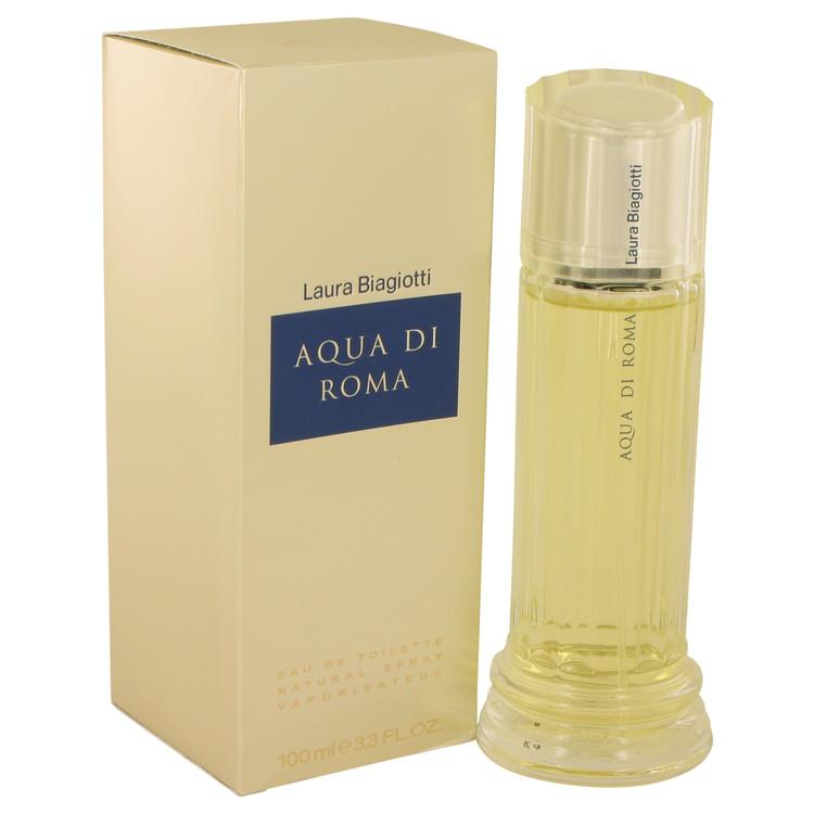 Aqua Di Roma by Laura Biagiotti for Women Eau De Toilette Spray 3.4 oz
