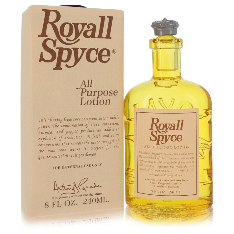 Royall Spyce All Purpose Lotion / Cologne By Royall Fragrances 240ml