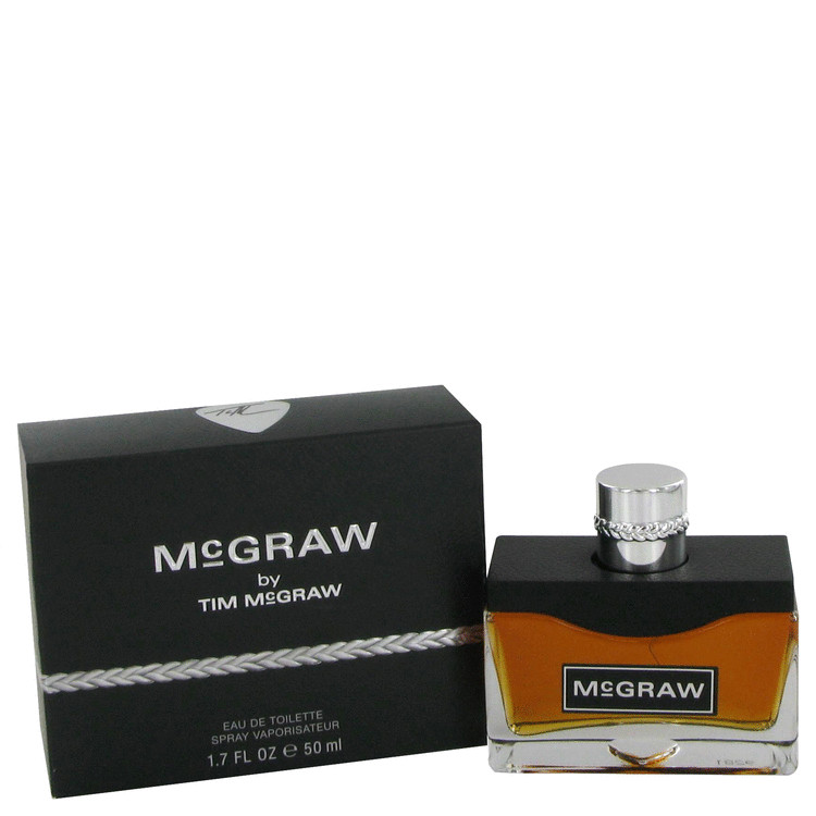 McGraw by Tim McGraw for Men Gift Set -- .5 oz Eau De Toilette Spray + Gift Bag + Tissue Paper and Giftable Pouch with Card