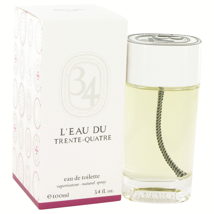 L'eau Du Trente-Quatre by Diptyque for Women Vial (sample) .06 oz