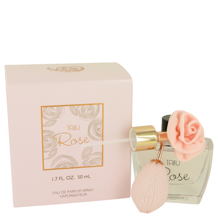 Tabu Rose by Dana for Women Eau De Parfum Spray (unboxed) 1.7 oz