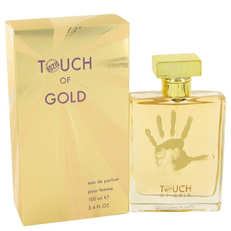 90210 Touch of Gold by Torand for Women Eau De Parfum Spray 3.4 oz