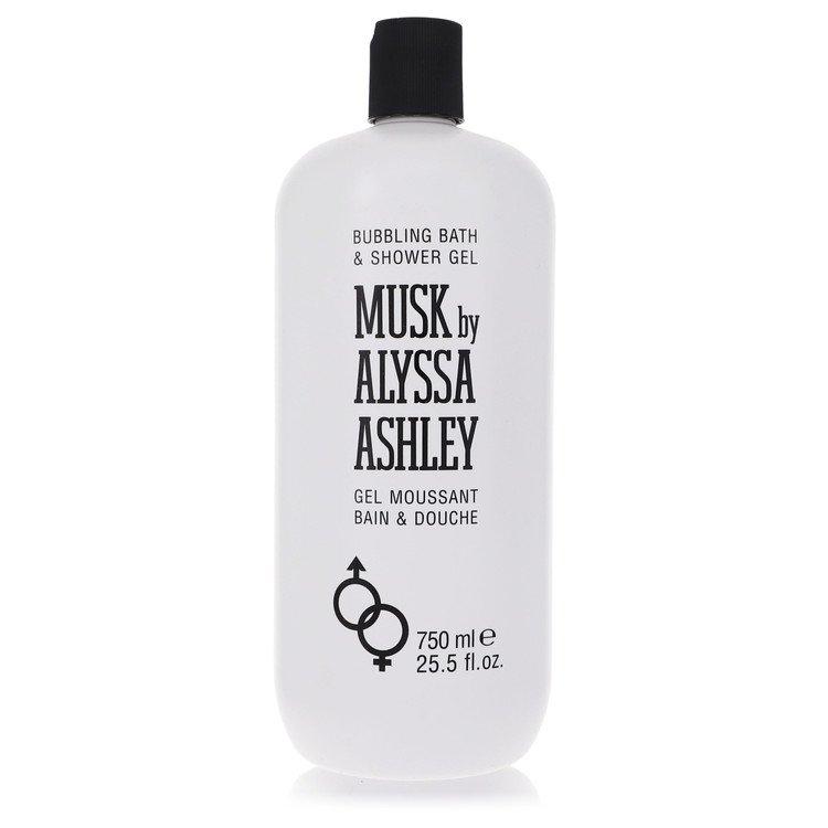 Alyssa Ashley Musk by Houbigant for Women Shower Gel 25.5 oz