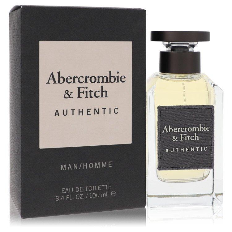 Abercrombie and Fitch Authentic Eau De Toilette Spray By Abercrombie and Fitch 3.4oz