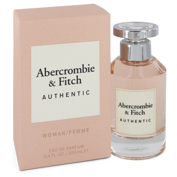 Abercrombie and Fitch Authentic Eau De Parfum Spray By Abercrombie and Fitch 100