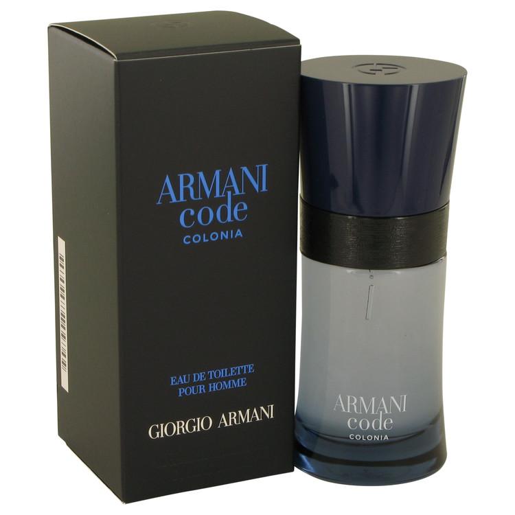 Armani Code Colonia Eau De Toilette Spray By Giorgio Armani 50ml