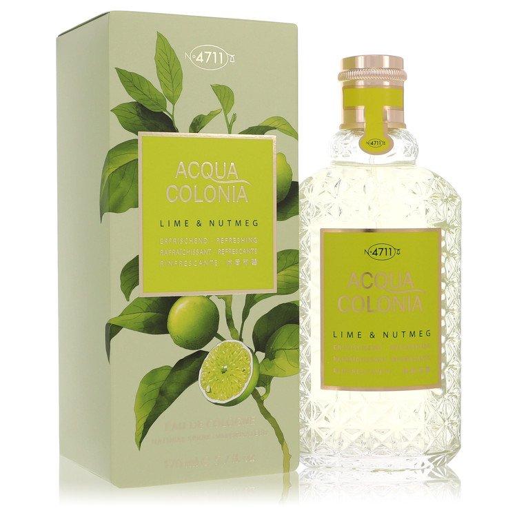4711 Acqua Colonia Lime and Nutmeg Eau De Cologne Spray By Maurer and Wirtz 5.7oz