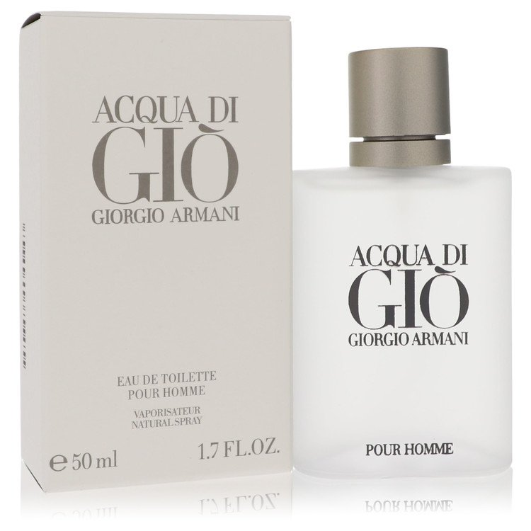 Acqua Di Gio Eau De Toilette Spray By Giorgio Armani 1.7oz